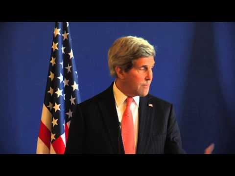 Conférence de presse de Laurent Fabius et John Kerry - 07/03/15