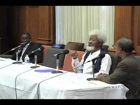 Video 9 Wole Soyinka Speaks@ The Christopher Okigbo International Conference Harvard University