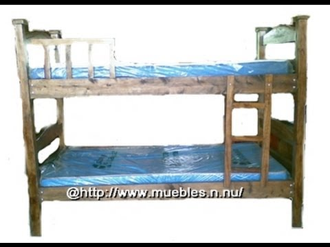 Camarote individual de madera youtube - Como hacer sillon de palets ...