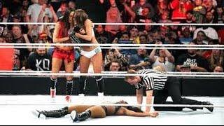 WWE Elimination Chamber 05 31 15   Nikki Bella vs  Paige vs  Naomi