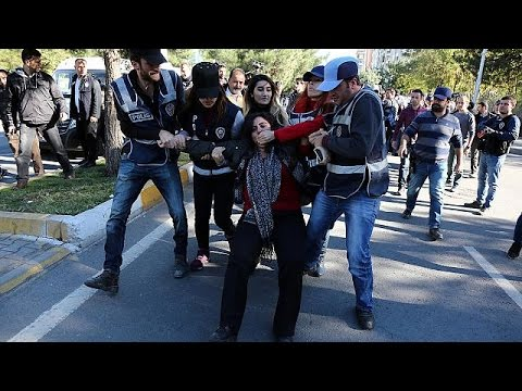 Turkey rocked by protests after high-profile arrests - world