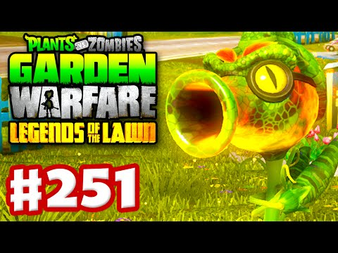 Plants vs. Zombies: Garden Warfare Gameplay Walkthrough Part 251 Fire Peazilla
