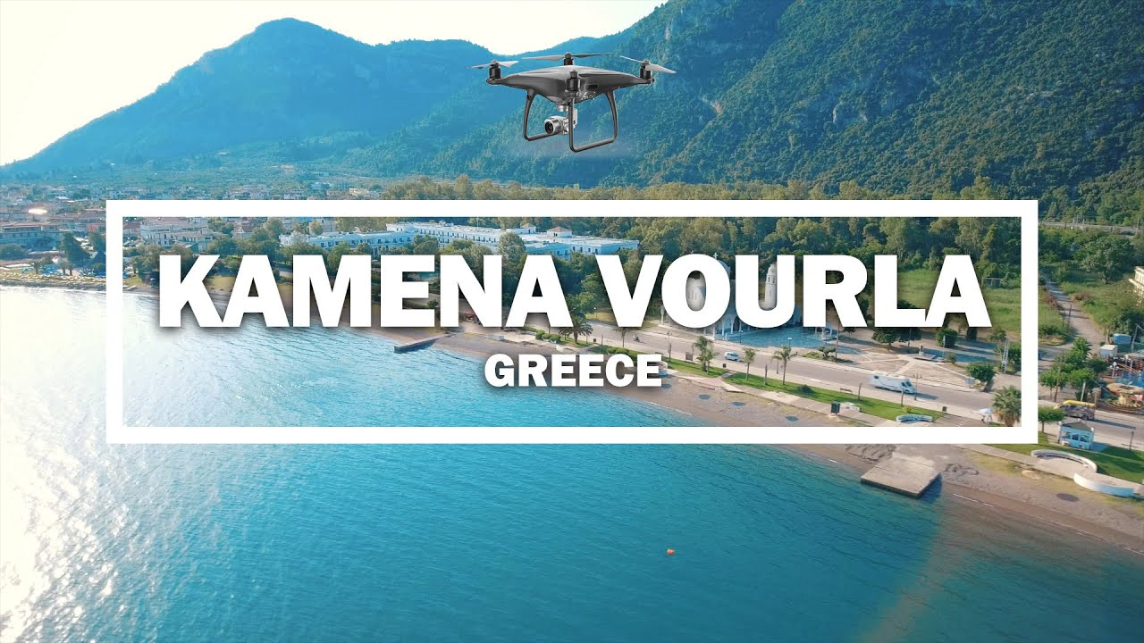 Kamena Vourla Greece Drone Youtube