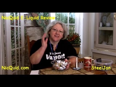 NicQuid E-Liquid Review - All 26 Flavors!