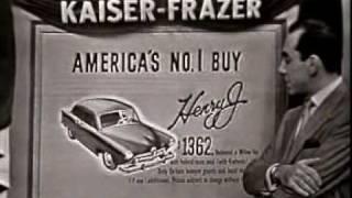 1951 Kaiser Frazer Henry J Commercial