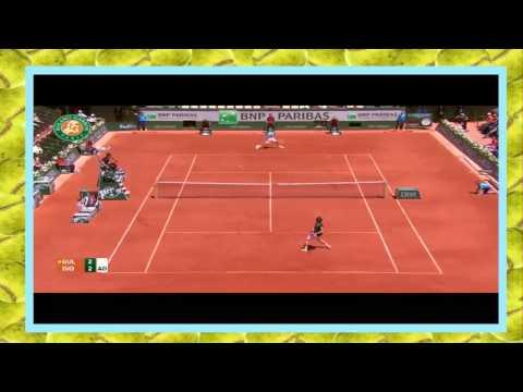 Novak Djokovic vs Ernests Gulbis Highlights French open SF 2014