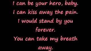 Hero Enrique Iglesias - Lyrics