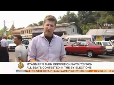 Wayne Hay reports from NLD headquarters in Yangon