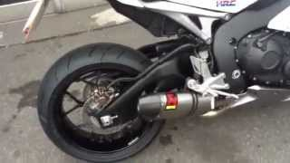 2012 Honda HRC Fireblade Akrapovic Exhaust from Kestrel Honda