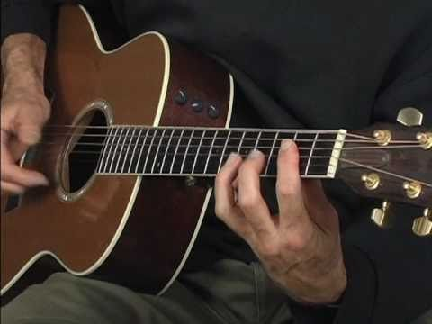 Acoustic fingerstyle Blues guitar lesson ala Robert Johnson Blind Boy Fuller