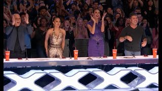 Twin Magicians Shocks Everyone With Their Never Seen Tricks   Week 3   America's Got Talent 2017
