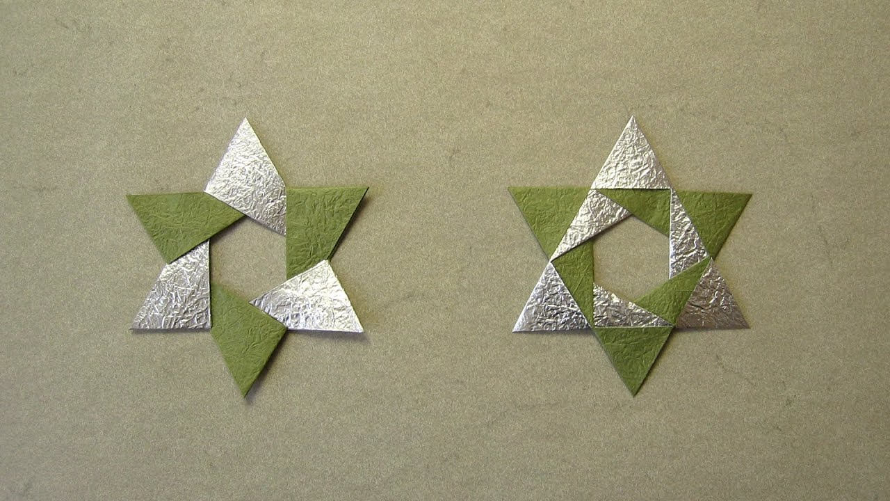 How to Make an Origami Ninja Star 5 Steps