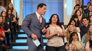Guest Host John Cena and Jenna Dewan Send Fans on a Golden Egg Hunt