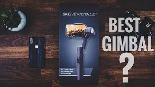Is The Smove Mobile The Best Gimbal For The Galaxy S9 Or ANY Smartphone?
