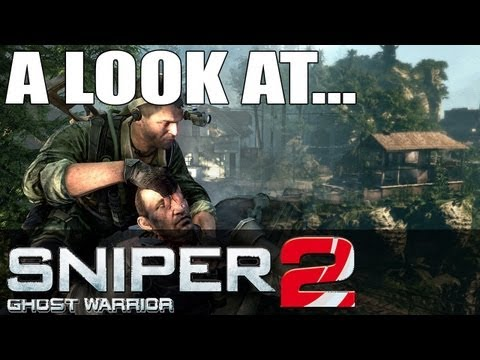 Sniper Ghost Warrior 2 PC Gameplay Opinion & First Impressions Review Max Graphics Settings