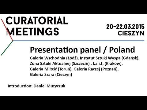 Curatorial Meetings / Introduction - Daniel Muzyczuk 01 // PL