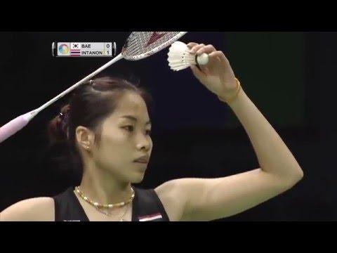 Yonex Sunrise India Open 2016 | Badminton SF M3-WS | Bae Yeon Ju vs Ratchanok Intanon