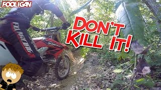 Trail Fails in Chadwick, MO | Honda CRF450