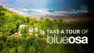 Find Your Happy Place -- Tour Blue Osa From The Sky -- Yoga Retreat