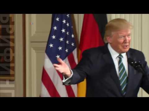 Трамп переговорил с Меркель