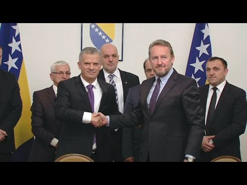 Izetbegović i Radončić potpisali koalicioni sporazum SDA i SBB-a