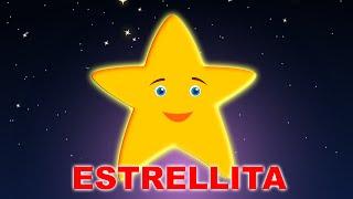 Estrellita Dónde Estás Con Letra |  Brilla Estrellita | Twinkle Twinkle Little Star in Spanish