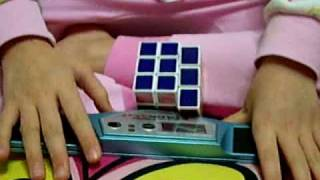 7 Year Old Solves Rubik's Cube in 12.95 seconds