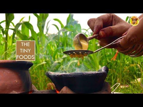 Tirupathi Style Laddu   How to Make Bondi Ka Ladoo   Besan ke Ladoo   E36   The Tiny Foods