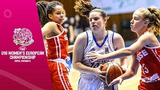Israel v Switzerland - Full Game - FIBA U16 Women's European Championship Division B 2019