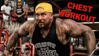 CHEST WORKOUT - MAXING OUT WITH MIKE RASHID AND BIG BOY