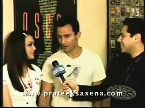 Prateek Saxena Interviews Preity Zinta & Saif Ali Khan