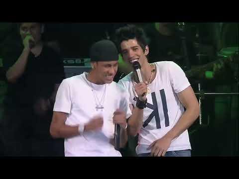 Gusttavo Lima con Neymar
