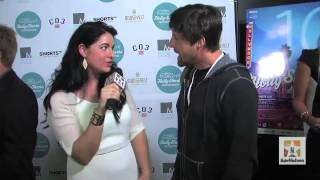 Tim Guinee on the red carpet with his film ONE ARMED MAN at Holly Shorts