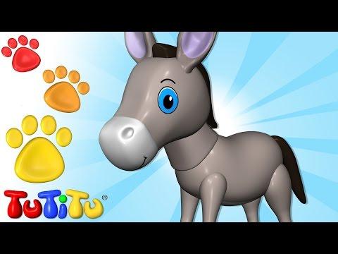 TuTiTu Deutsch | Tiere auf Deutsch | Esel und andere Tiere