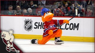 Hockey Mascot Moments