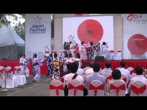 [YOSAGO] Japan Festival in Vietnam - Bon Odori 01 (16.11.2013)