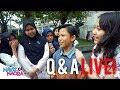 Q & A Live! Horee.. Akhirnnya Bisa Bertemu Dengan Fans -