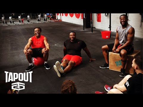 New Day build a New You at WWE Workout Experience in Birmingham, U.K.