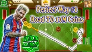 SOCCER STARS The Perfect Way TO 10M Coins #1 + Best Tips & Skills