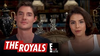 The Royals | Max and Genevieve Play the British Slang Game | E!