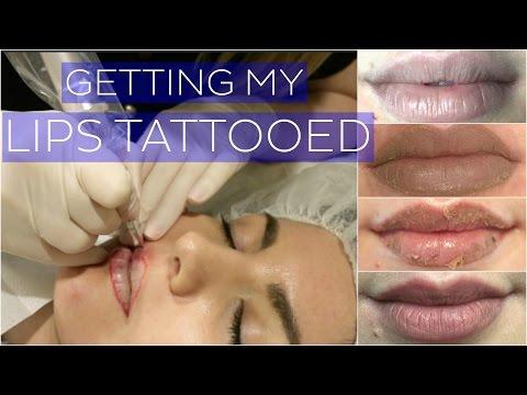 Getting My Lips Tattooed // Cosmetic Tattoo VLOG // Rachael Jade