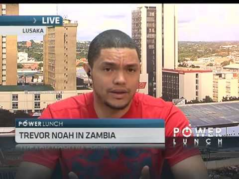 Trevor Noah In Zambia video