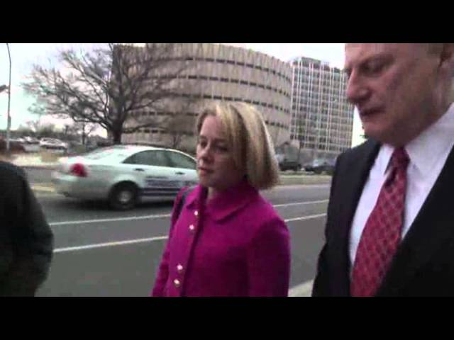Raw: Former Christie Aide Arrives at NJ Court