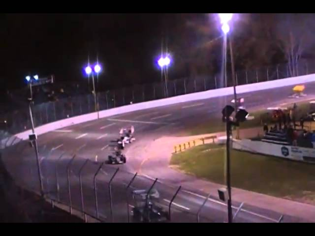 ISMA Dion Parish Memorial Supermodifieds @Berlin Raceway 9.25.10 Feature pt4