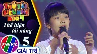 THVL | Thử tài siêu nhí 2019 - Tập 5[2]: Vu Lan nhớ mẹ - Nguyễn Thị Hương