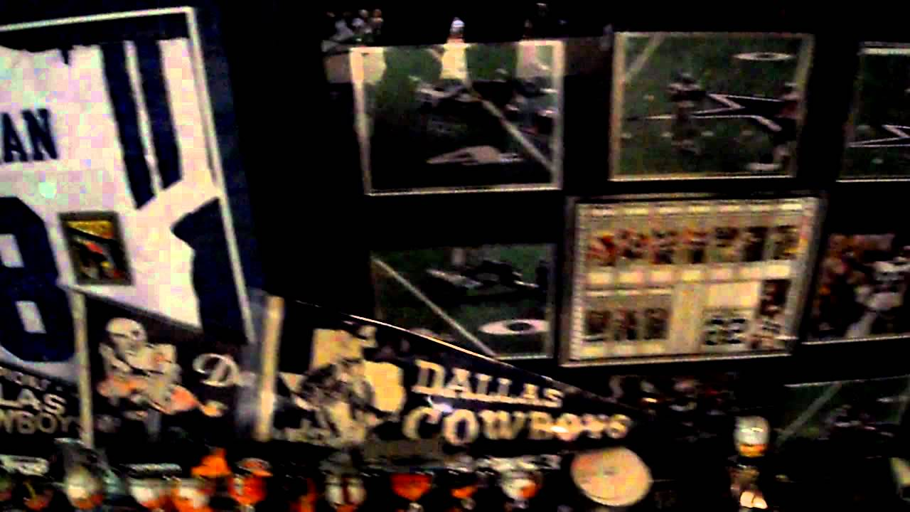 Dallas cowboys man cave youtube