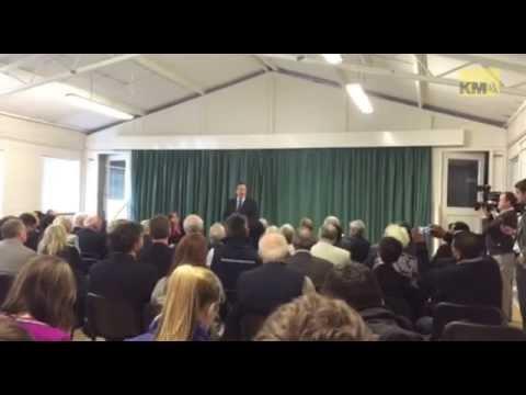 David Cameron visits Medway