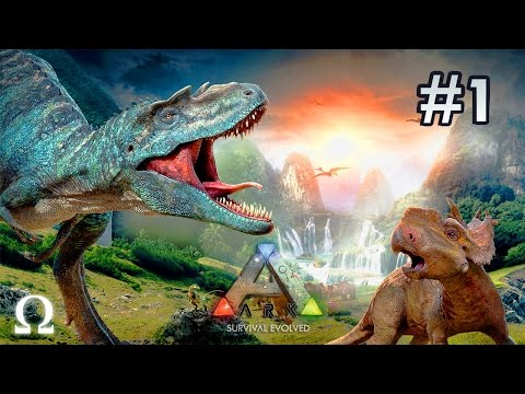 BOXING, THE TRAP, MEGALODON SURPRISE! | ARK Survival Evolved #1 (Funny Moments)