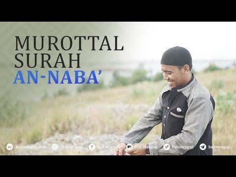 Murottal Surah An-Naba' - Mashudi Malik Bin Maliki