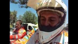Sardegna Rally Race 2015: Luca Vecchi, intervistato a fine prima tappa